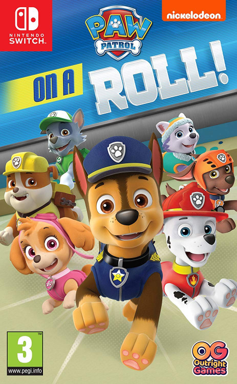 Paw Patrol On a roll! (Nintendo Switch)