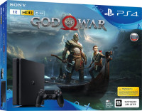 Sony PlayStation 4 1Tb + God of War