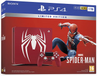 PS4 Slim (1TB) Marvel's Spider-Man Limited Edition