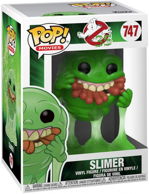 POP! Vinyl: Ghostbusters Slimer w/Hot Dogs
