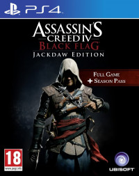 Assassins Creed IV 4 Black Flag JackDaw Edition (PS4)