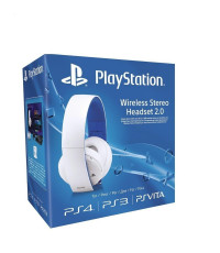 Sony PlayStation Gold Wireless Stereo Headset (Белый цвет)