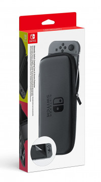 Nintendo Switch Accessory Set - Carry Case + Screen Protector