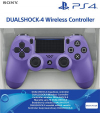 Dualshock 4 V2 Electric Purple