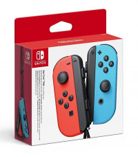 Nintendo Switch Joy-Con Controller Pair Neon Red / Neon Blue