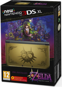 New Nintendo 3DS XL Zelda Majora`s Mask Edition
