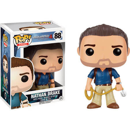POP! Vinyl Uncharted Nathan Drake фигурка Натхан Дрэйк