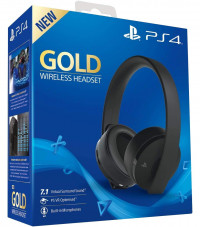 New PlayStation 4 Gold Wireless Headset