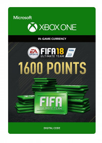 FIFA 18 Ultimate Team 1600 Points Xbox One ключ