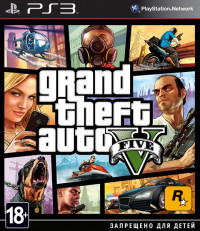GTA5 Grand Theft Auto 5 (PS3)