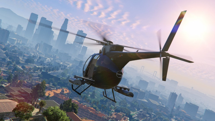 GTA5 Grand Theft Auto 5 (PS4)