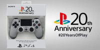 Dualshock 4 20th Anniversary Edition