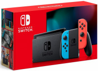 Nintendo Switch (Neon Red/Neon Blue) | новая ревизия