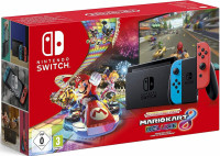 Nintendo Switch (Neon Red/Neon Blue) with Mario Kart 8 Deluxe - Limited Edition Bundle | новая ревизия
