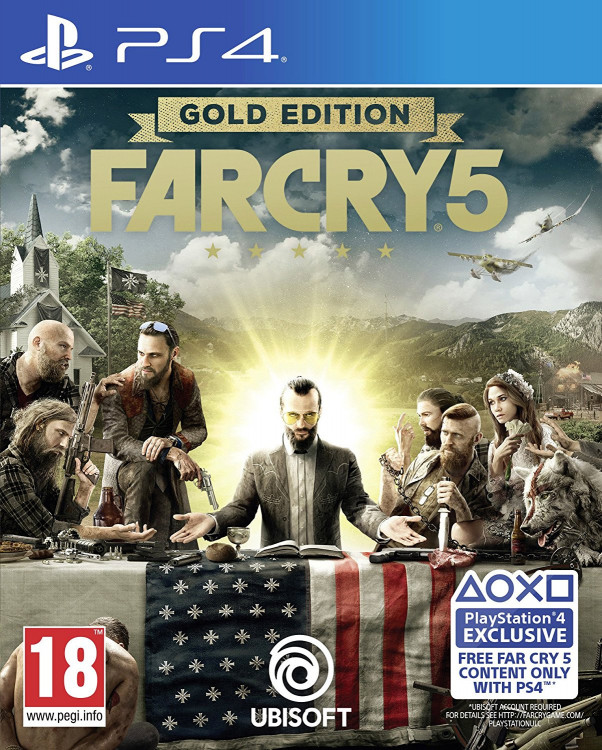 Far Cry 5 GOLD (PS4)