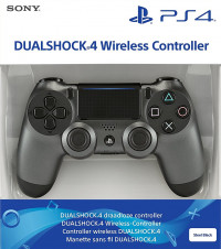 Dualshock 4 V2 Steel Black