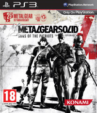 Metal Gear Solid 4: Guns of the Patriots. 25th Anniversary Edition (PS3)