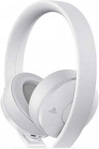 New PlayStation 4 Gold Wireless Headset (Белый)