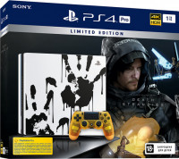 PS4 Pro (1TB) Death Stranding Limited Edition + игра Death Stranding