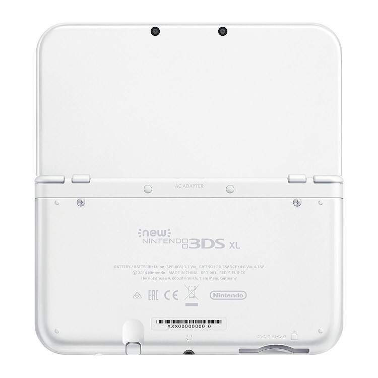 New 3DS XL Pearl White