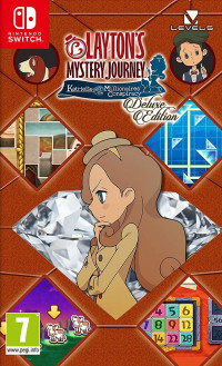 Layton's Mystery Journey Katrielle and the Millionaires' Conspiracy (Nintendo Switch)